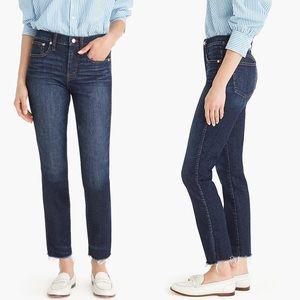 J. Crew Vintage Straight Raw Hem Jeans